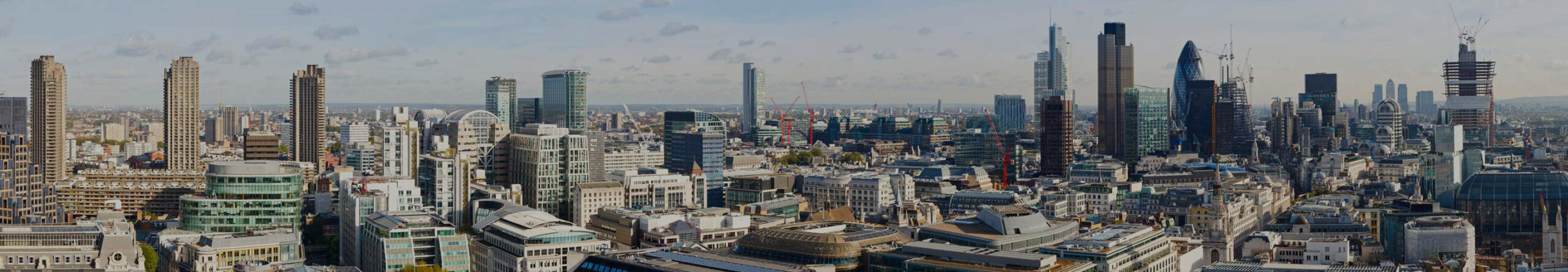 Bastelvorlage London - Panorama London, UK - Architektur London - Skyline London - London Hochhäuser - Architektur basteln