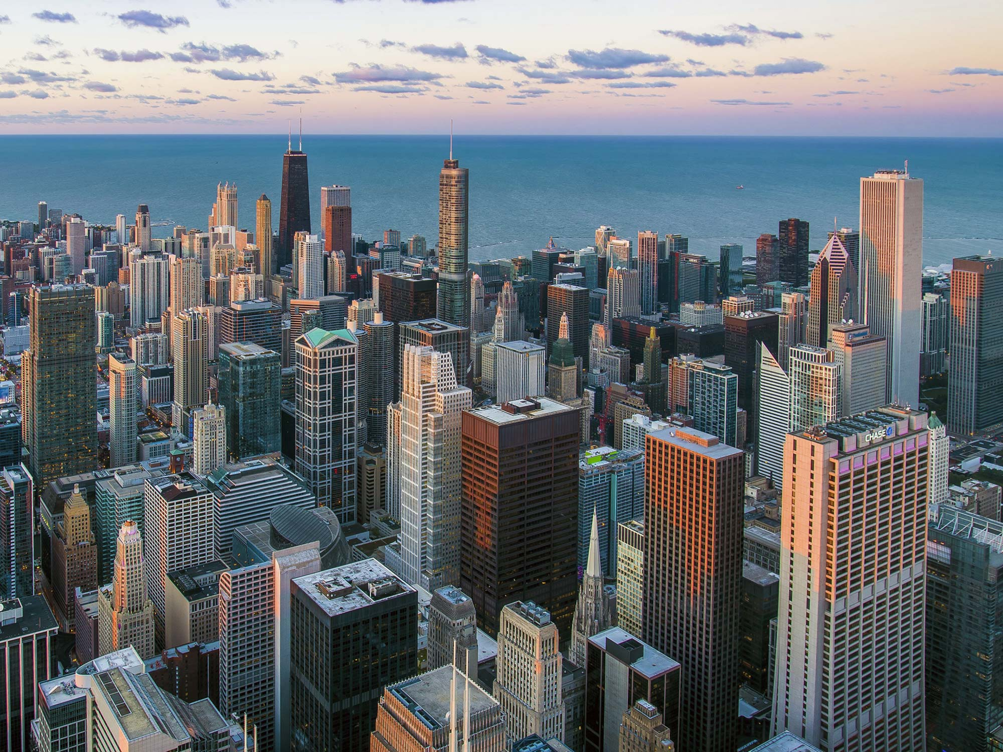 Chicago skyline - Skyscrapers in Chicago