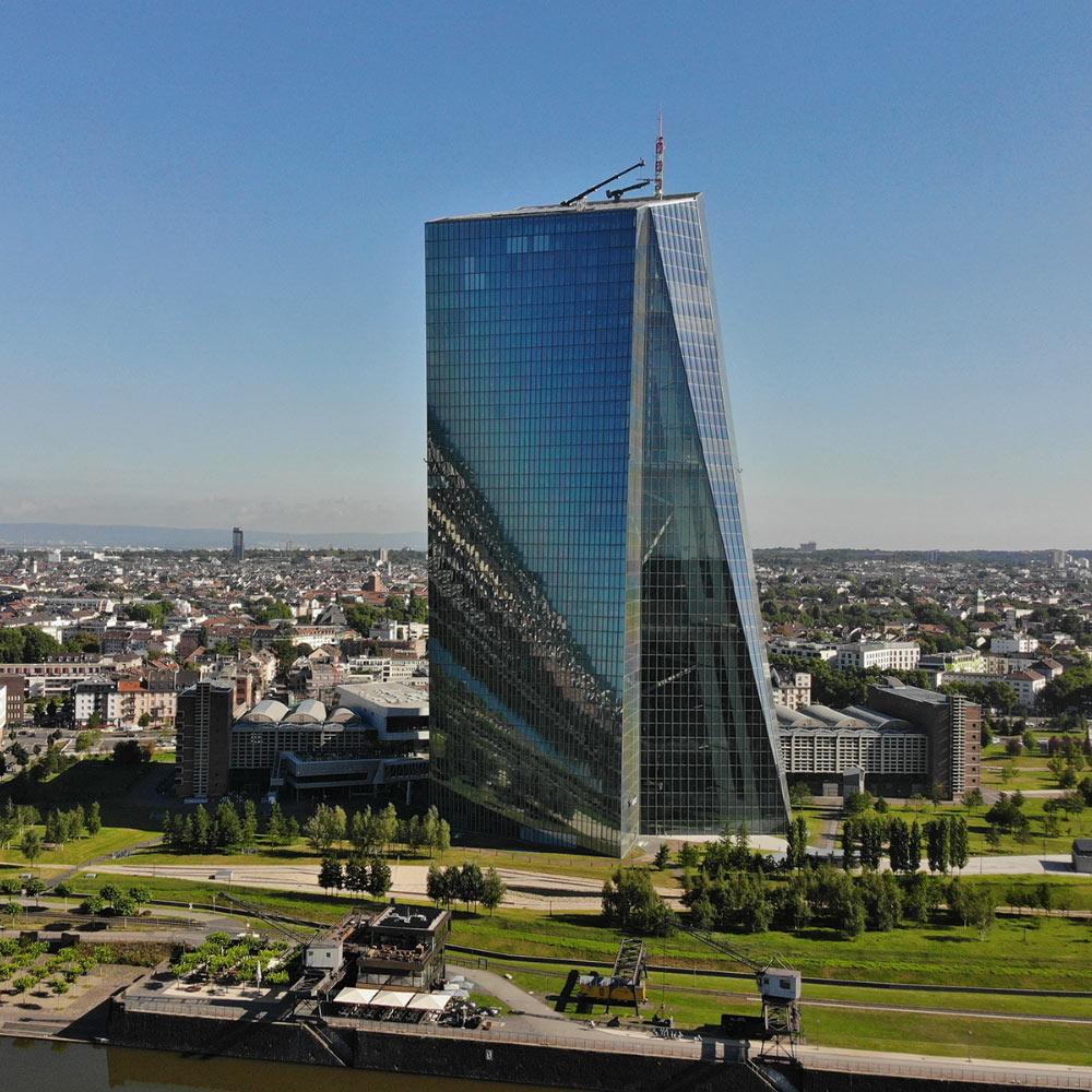 EZB Bastelvorlage Frankfurt