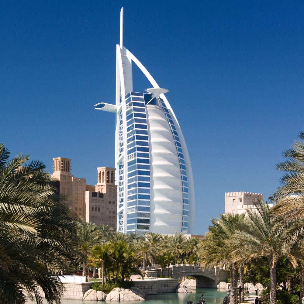 Burj Al Arab in Dubai - Vereinigte Arabische Emirate