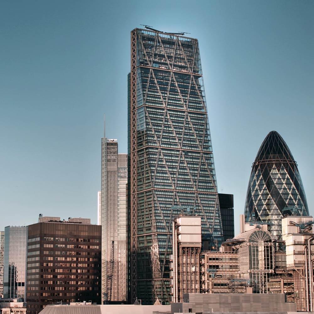 The Leadenhall Building in London