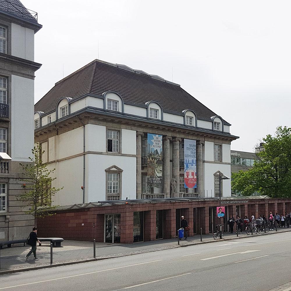 Deutsches Architekturmuseum - DAM Frankfurt am Main - Deutsches Architektur Museum FFM